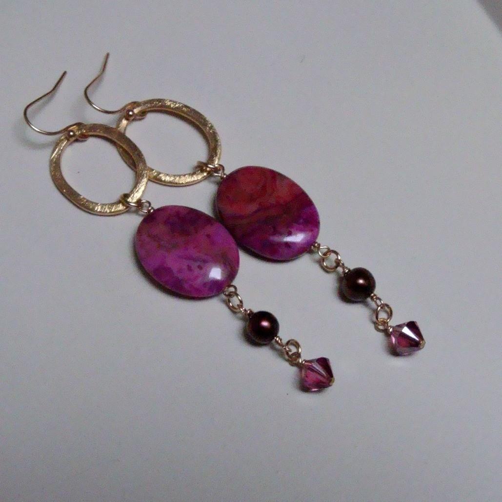 Bella Dolce Gold Filled Earrings
