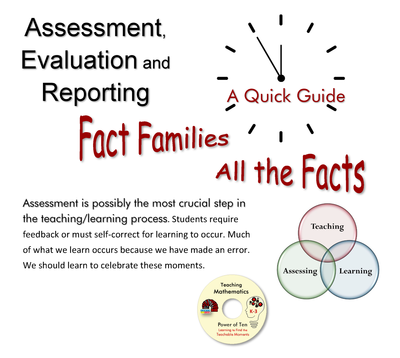 Quick Guide - Assessment Evaluation and Reporting Fact Families and All the Facts