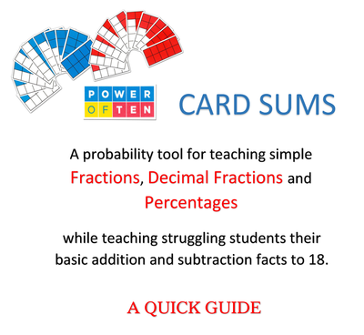 Quick Guide - Card Sums