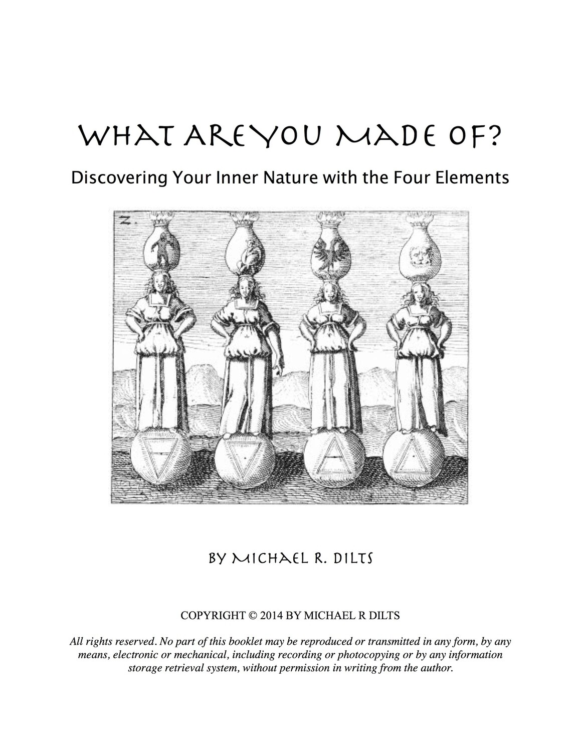 What Are You Made Of? - Discovering Your Inner Nature with the Four Elements [Booklet]