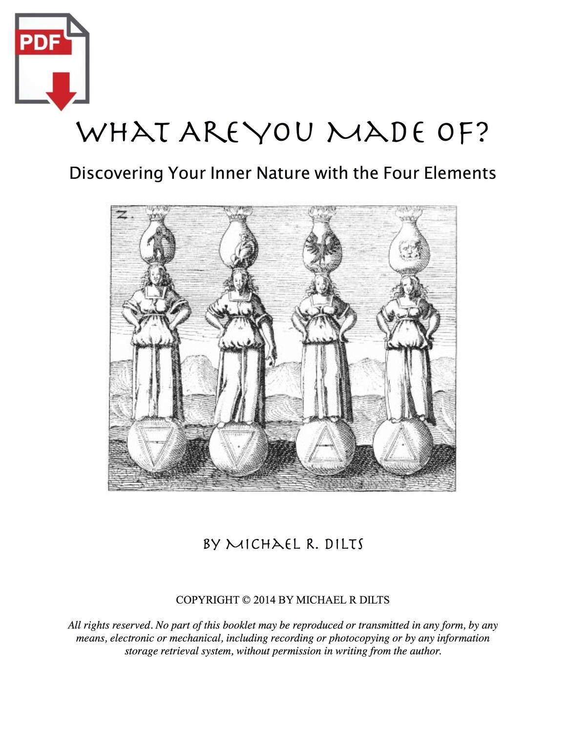 What Are You Made Of? - Discovering Your Inner Nature with the Four Elements [PDF]
