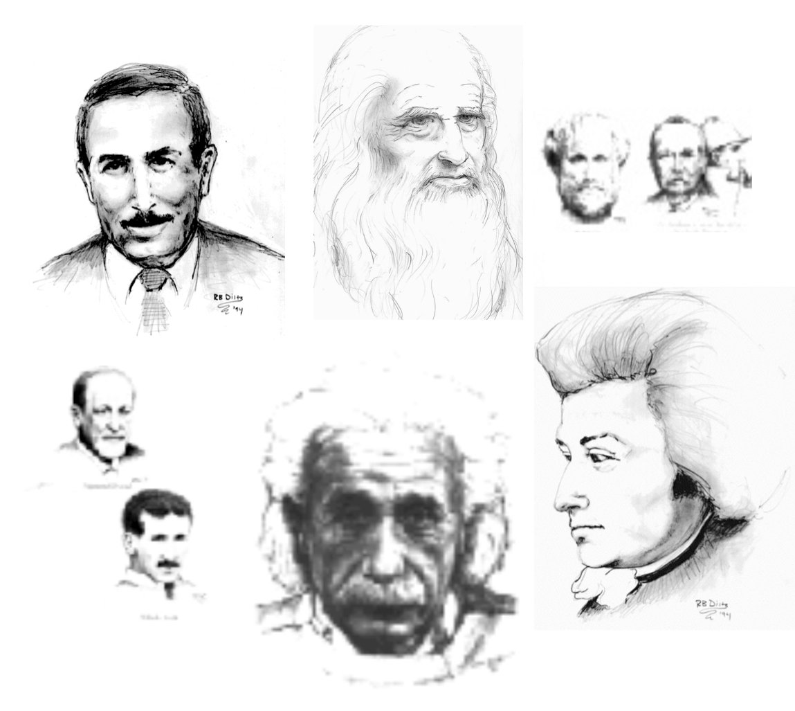 Genius Portrait Card Set