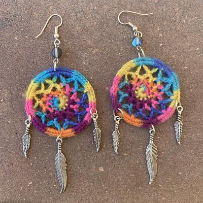 Rainbow Dreamweaver Earrings