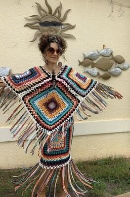 Bohemian Goddess Poncho