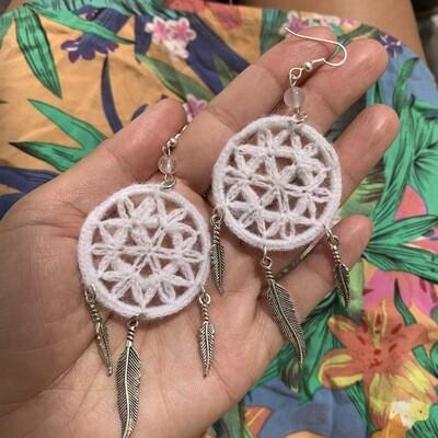 Flower Of Life Earrings