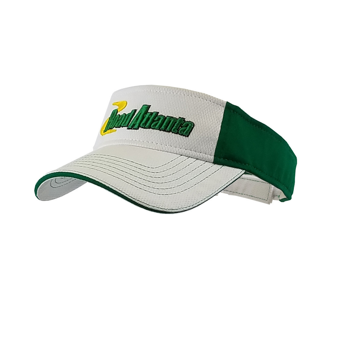 Road Atlanta White/ Kelly Green Visor