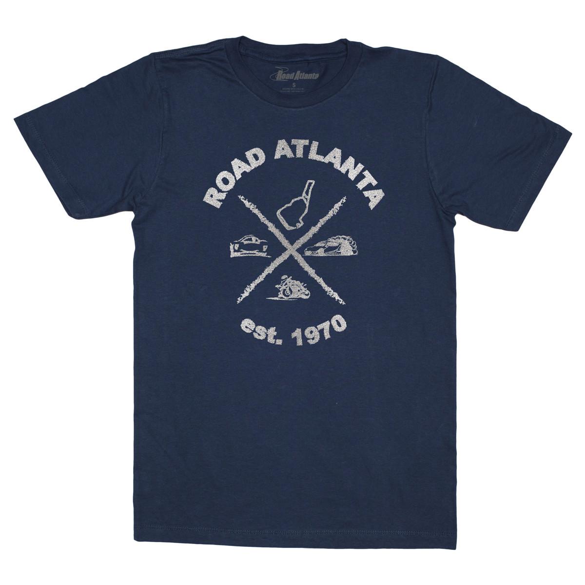 Road Atlanta All Track Tee - Navy