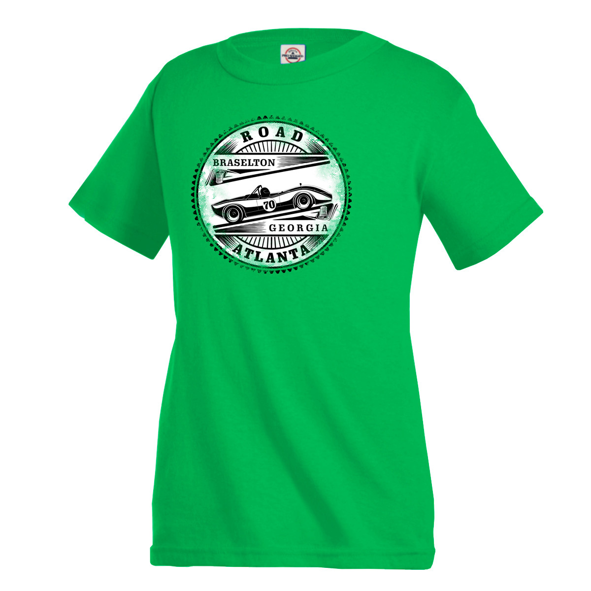 Road Atlanta Charger Tee - Green