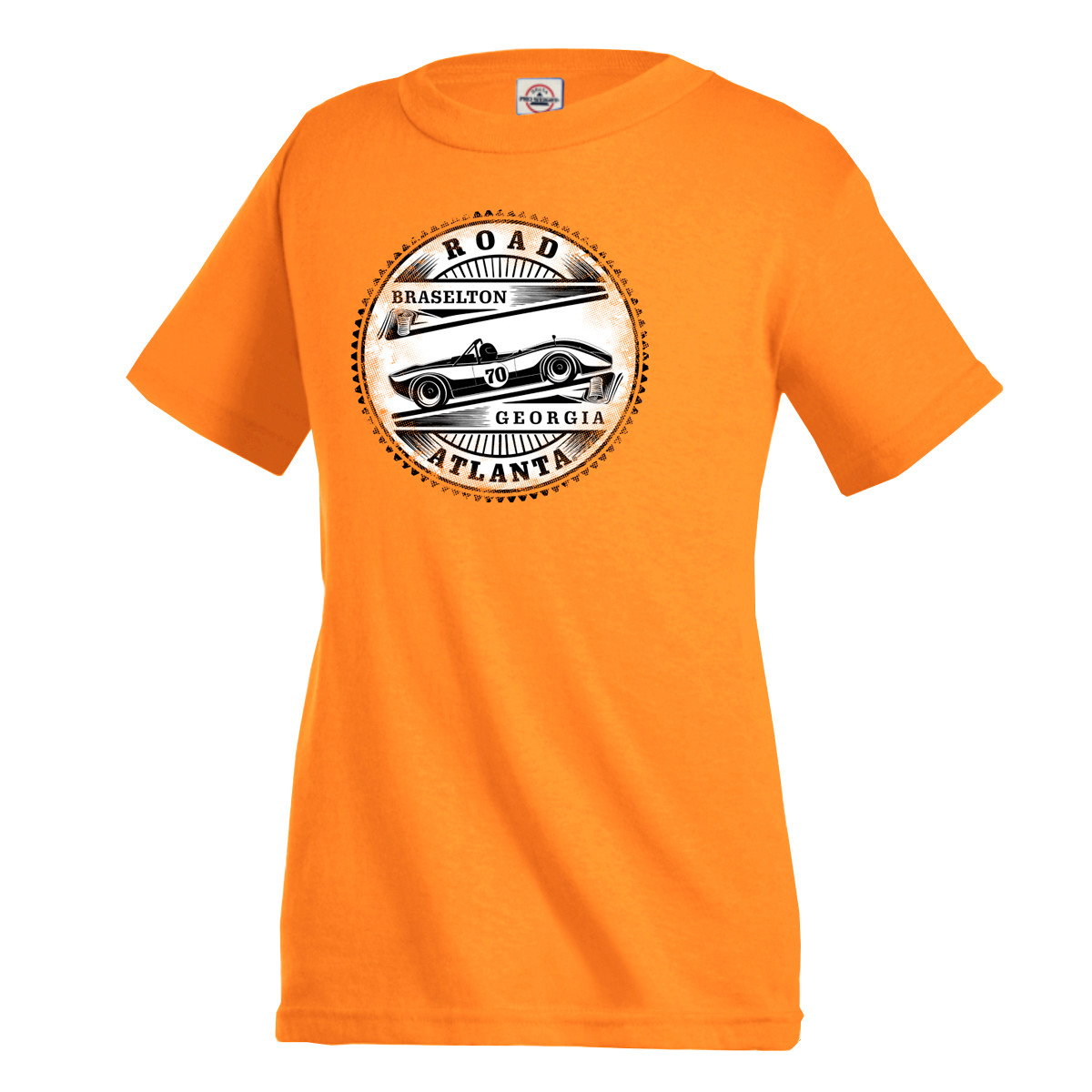 Road Atlanta Charger Tee - Orange