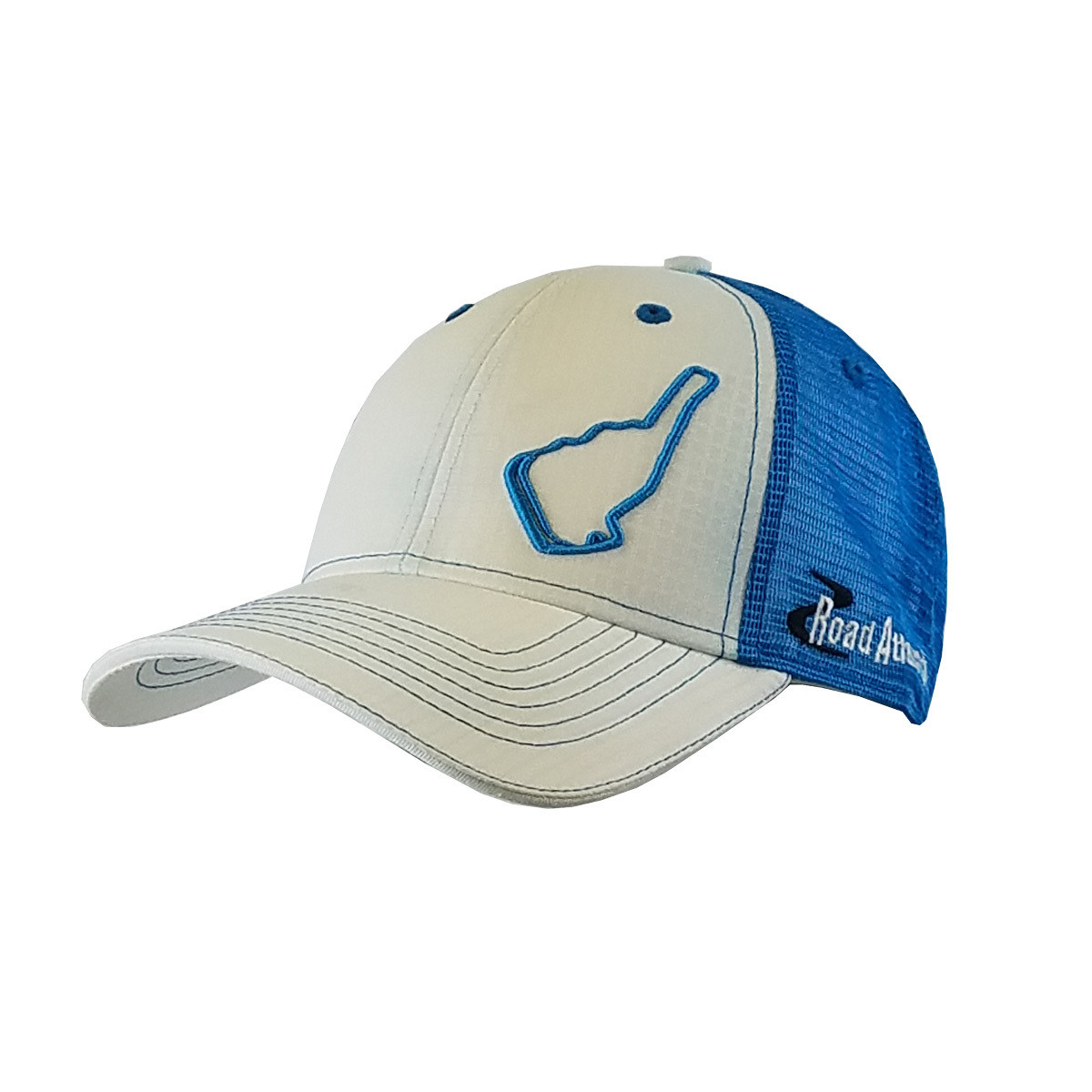 Road Atlanta Turquoise Track Outline Hat