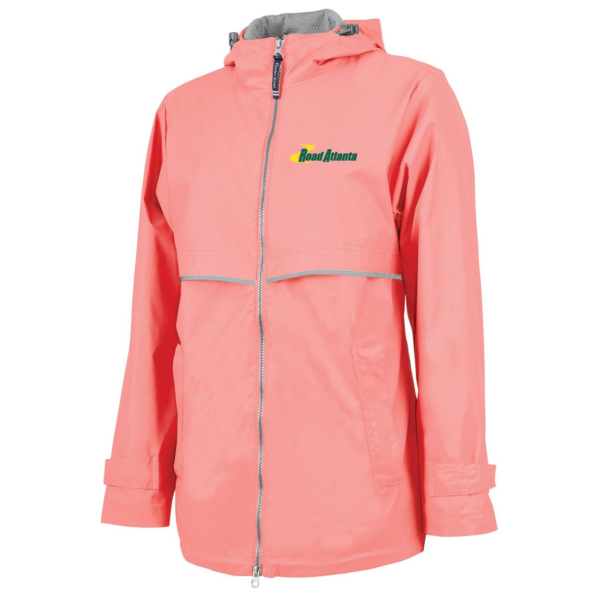 RA Ladies NE Rain Jacket- Coral
