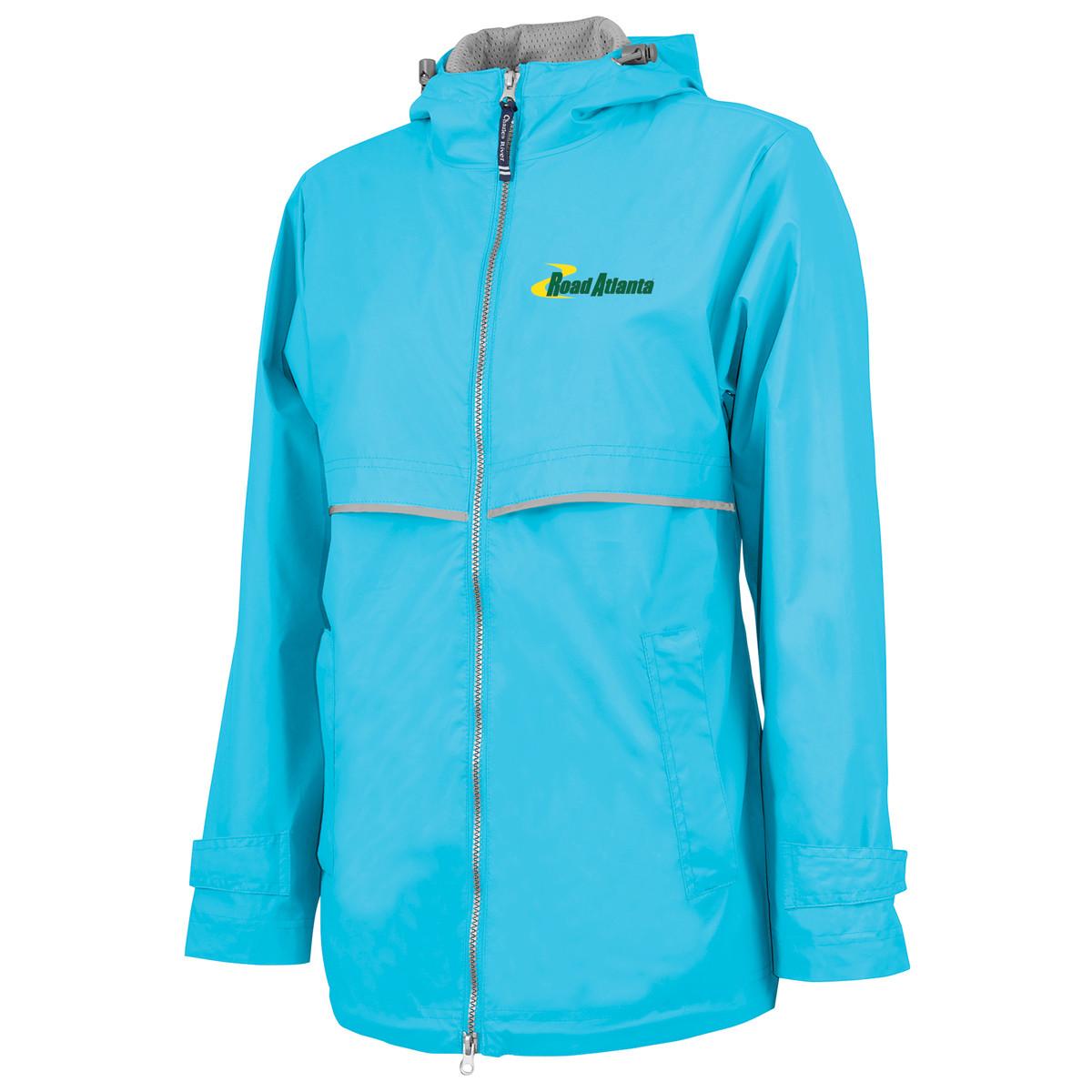 RA Ladies NE Rain Jacket- Wave Blue
