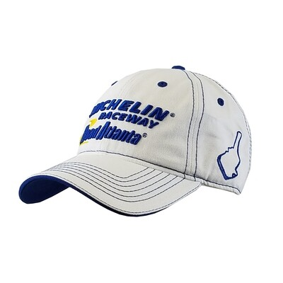Michelin Raceway Road Atlanta Chino Twill Hat - White