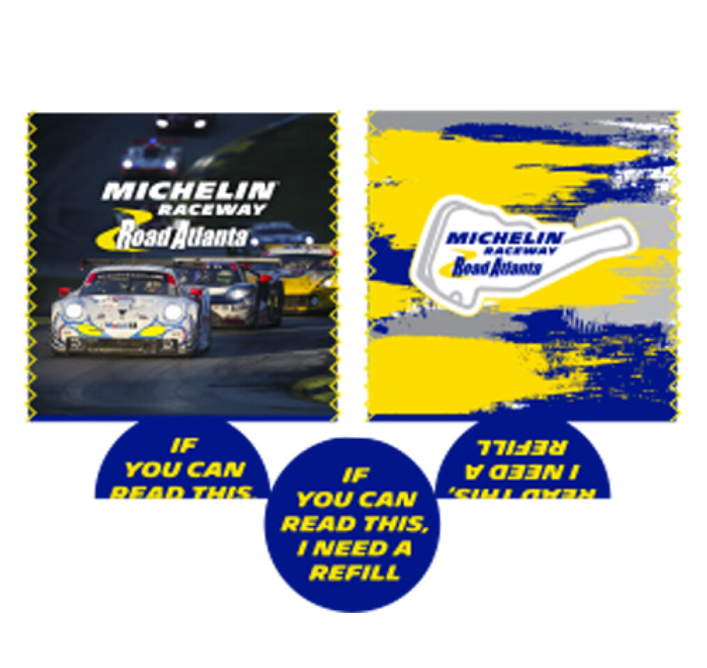 Michelin Raceway Road Atlanta Can Koozie