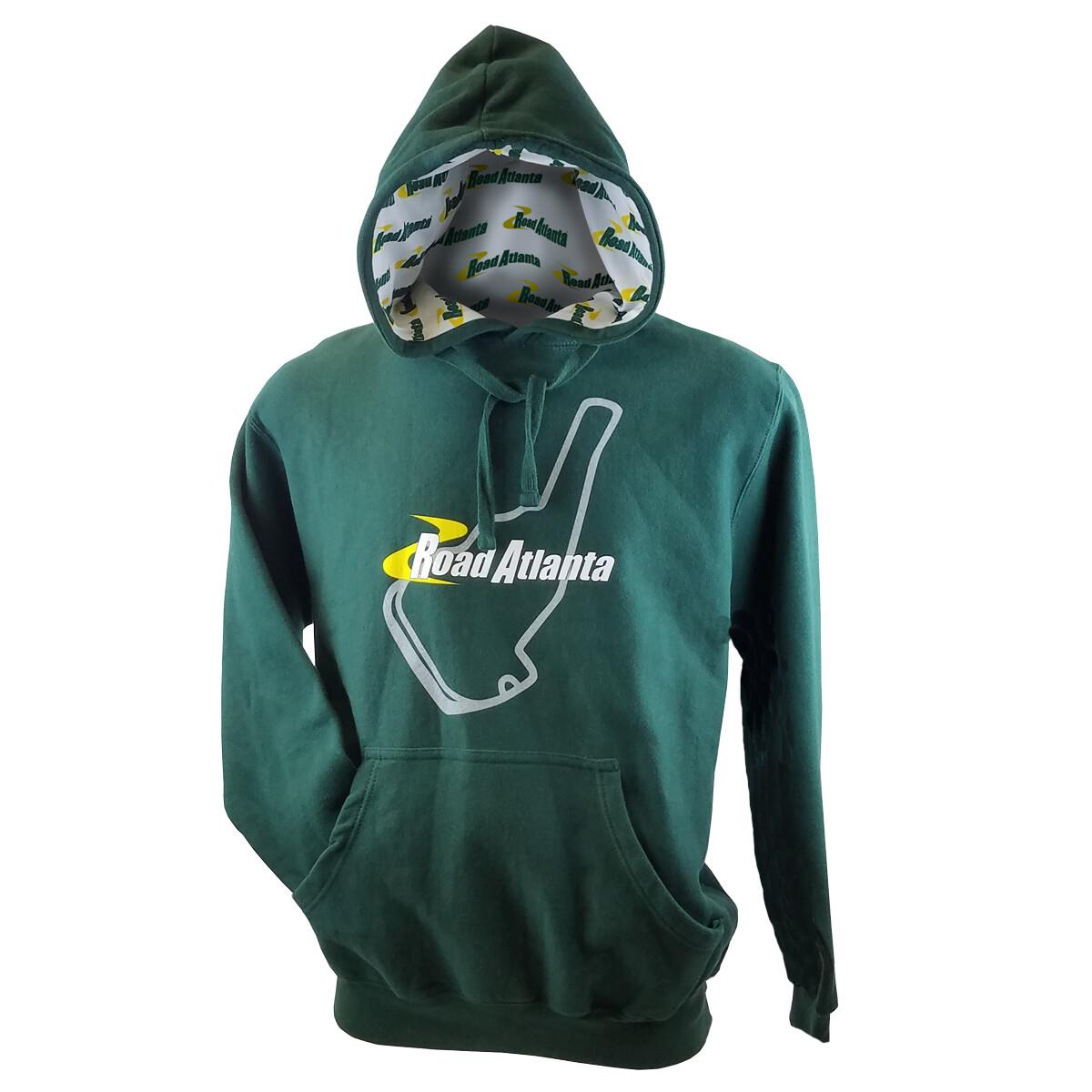 RA Custom Hooded Sweatshirt - Green