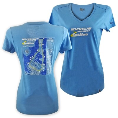 MRRA Ladies Blueprint T-Blue