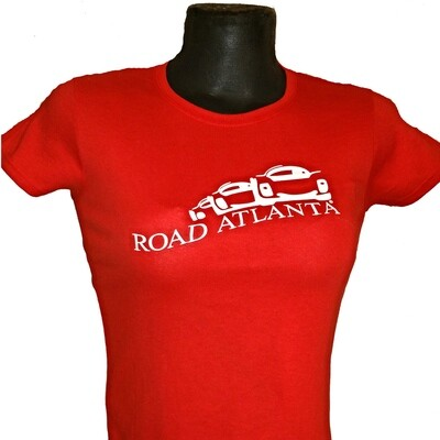 RA Vintage Ladies Tee - Red