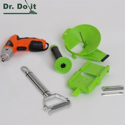 Multi-Slicer Set, grün mit Powertool