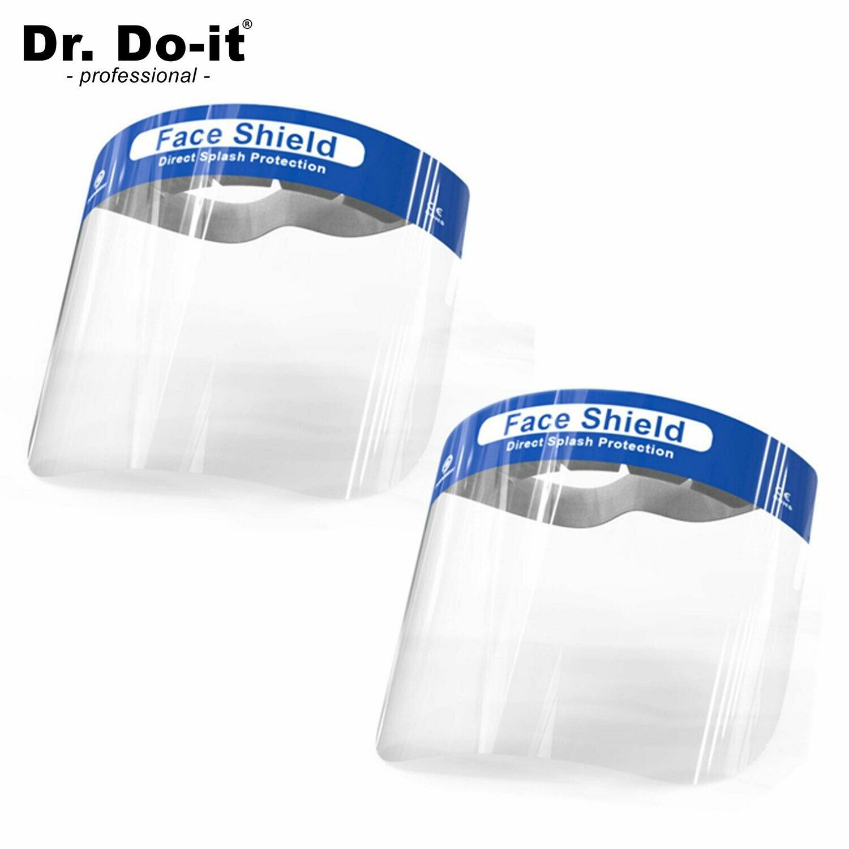 Gesichtsschutzmaske - Face Shield, 2er Pack