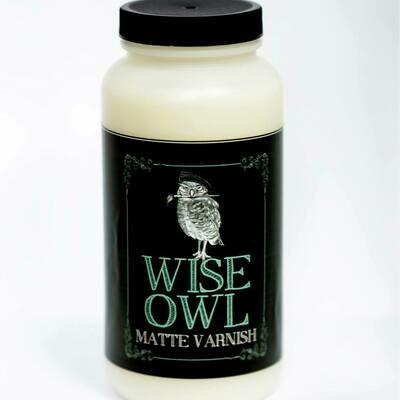 WISE OWL PAINT VARNISH   16 oz