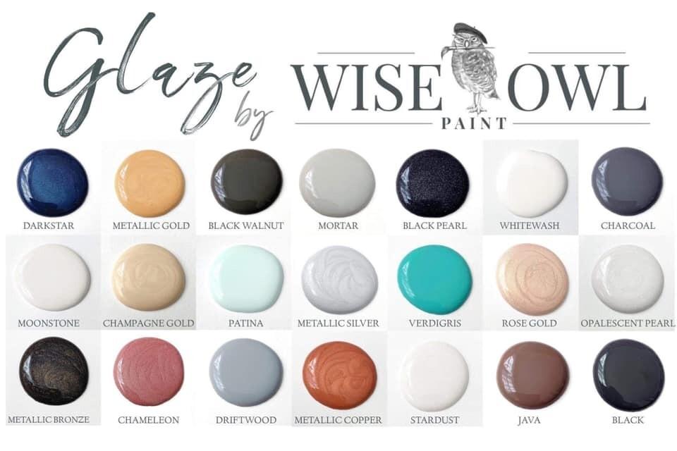 WISE OWL GLAZES 8 oz