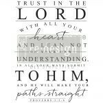 TRUST IN THE LORD #646837