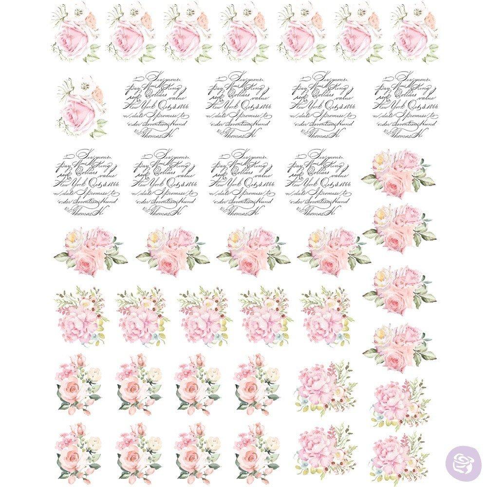 May Flowers Knob Transfer  #636753