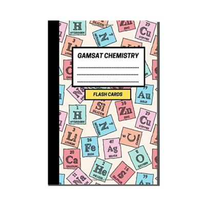 GAMSAT Chemistry Flashcard Notebook - Periodic Elements cover