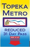 Reduced 31-Day Pass (Senior/Disabled/Medicare/Income)