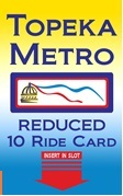 Reduced 10-Ride Card (Senior/Disabled/Medicare/Income)
