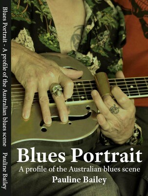 Book - Blues Portrait by Pauline Bailey
