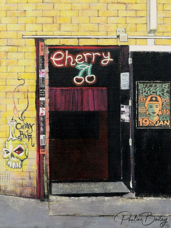 Tea towel - Cherry Bar (Bitter Sweet)