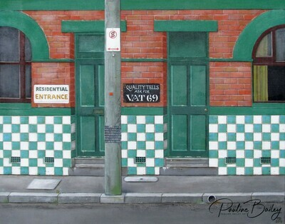 Greeting card - The Rainbow Fitzroy