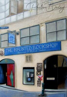 Greeting card - Haunted Bookshop