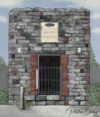 Greeting card - Bank Vault, Walhalla