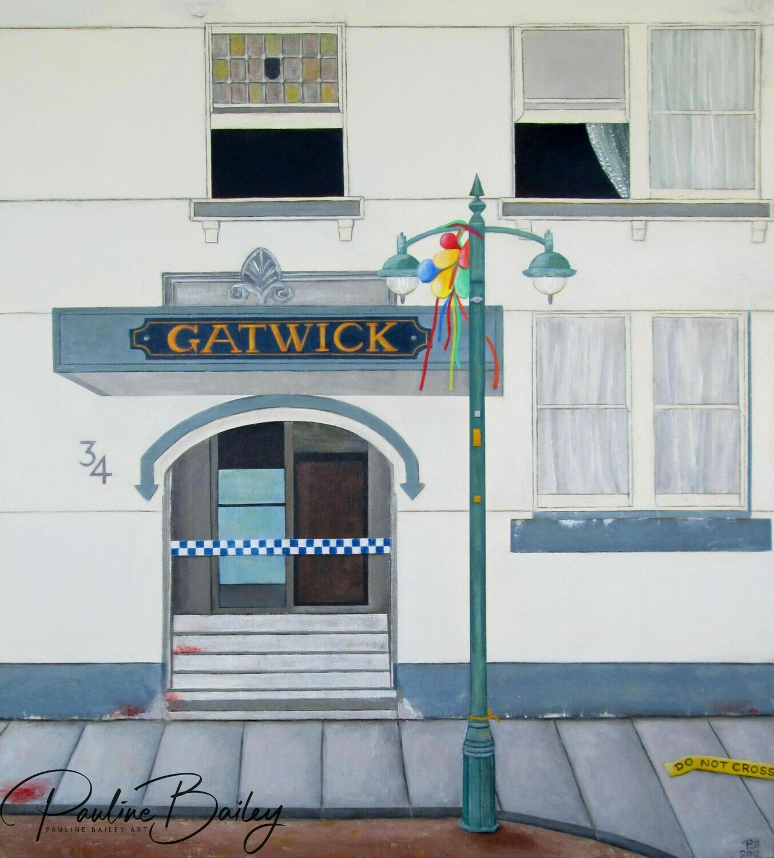 Original painting - The Gatwick