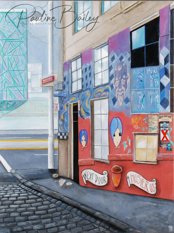 Original painting - Next Door