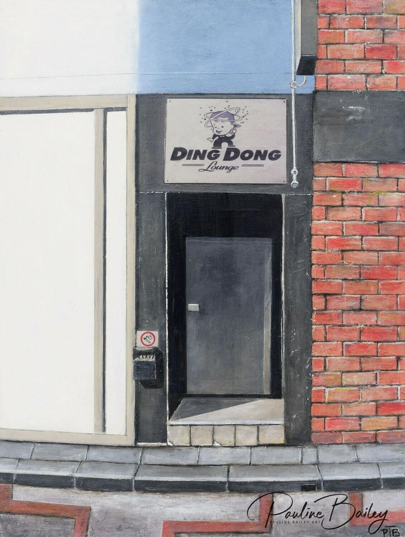 Original painting - Ding Dong Lounge