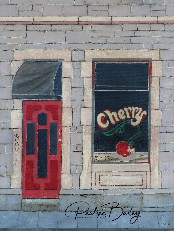 Original painting - Cherry, Little Collins
