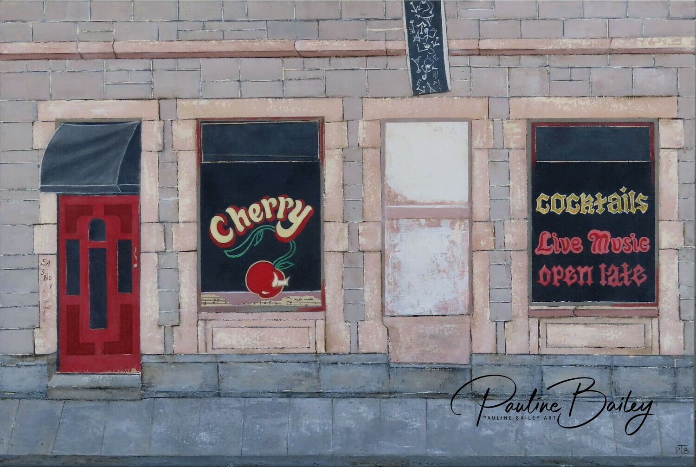 Original painting - Cherry  Bar, Little Collins Street.