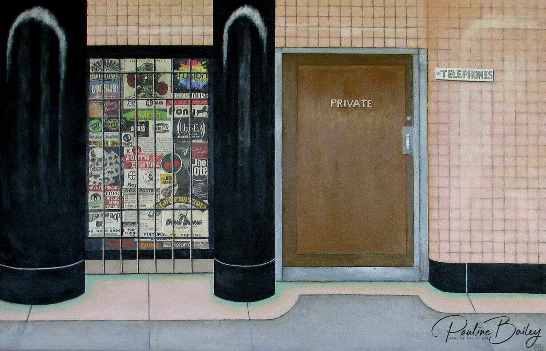 Original painting - Campbell Arcade