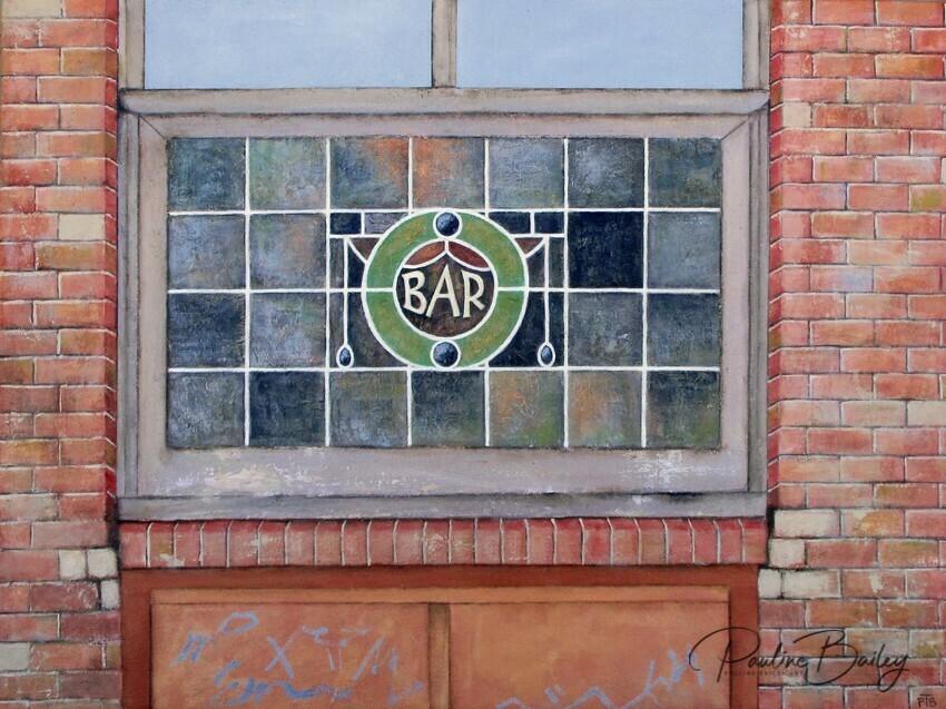 Original painting -  London Tavern, Richmond