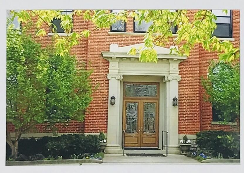 Chapel Door Photo Card