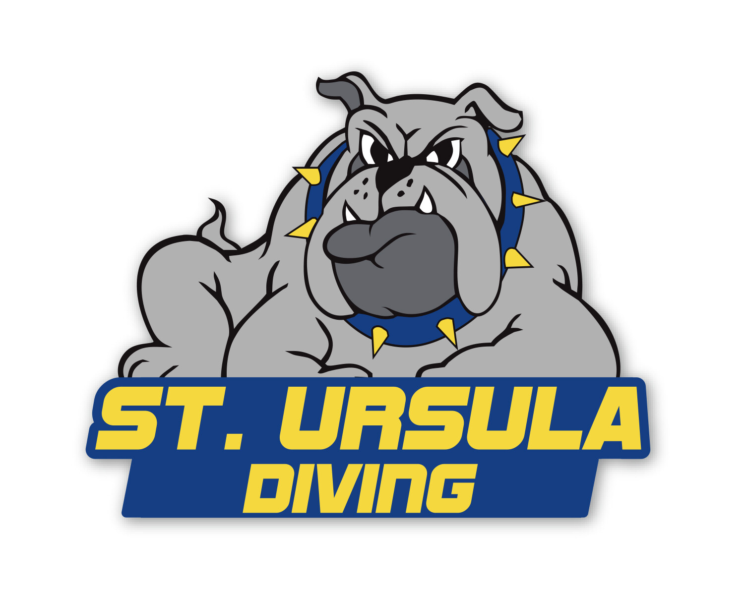 Decal - 6 x 7 - Diving