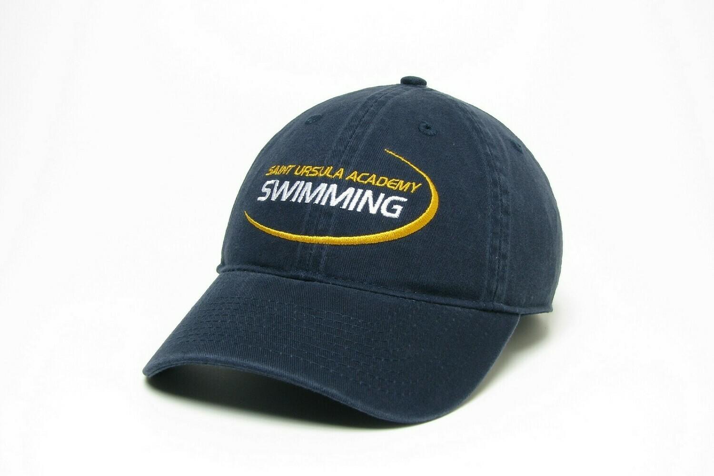 Hat - Navy - Swimming Swoosh