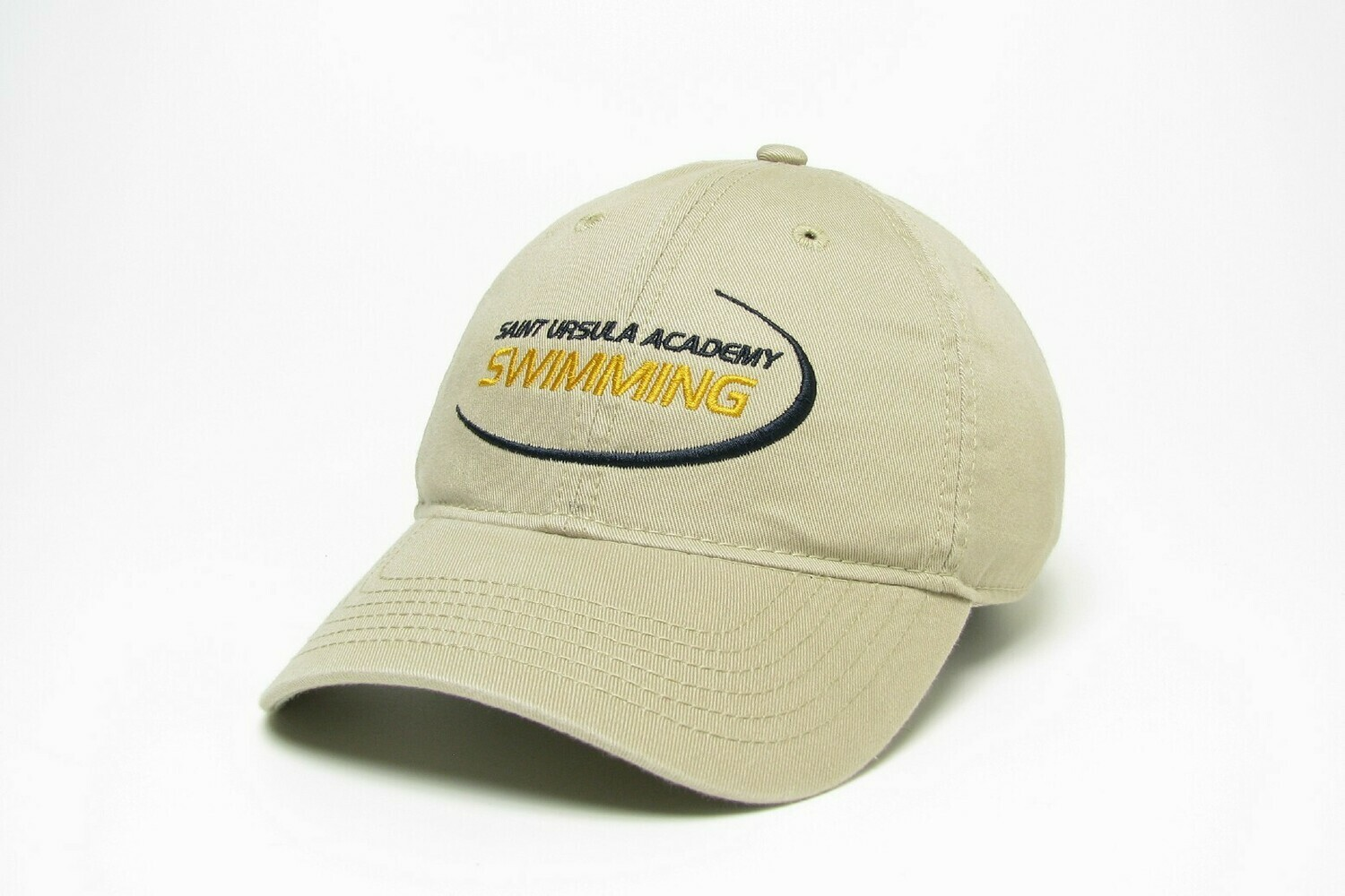Hat - Khaki -Swimming Swoosh