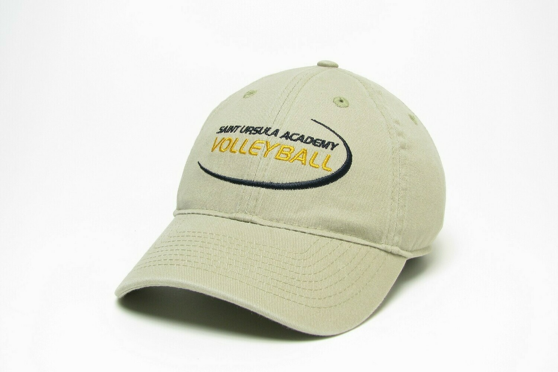 Hat - Khaki - Volleyball Swoosh