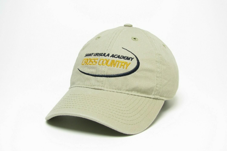 Hat - Khaki - Cross Country Swoosh