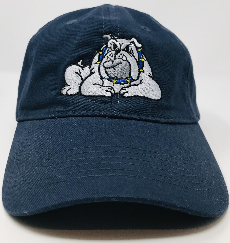 Hat - Navy - Bulldog