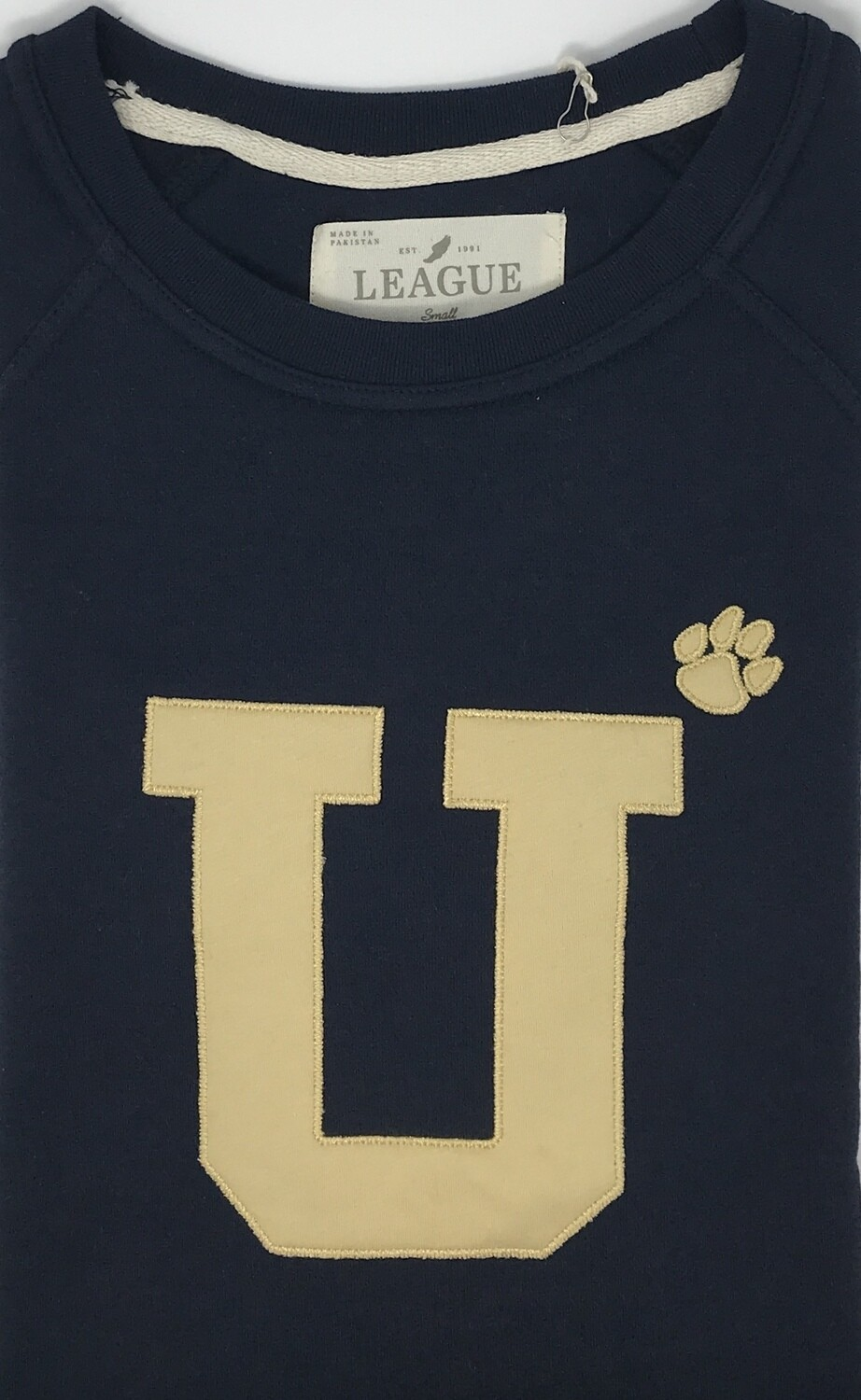 Crew - Navy - U with the Paw